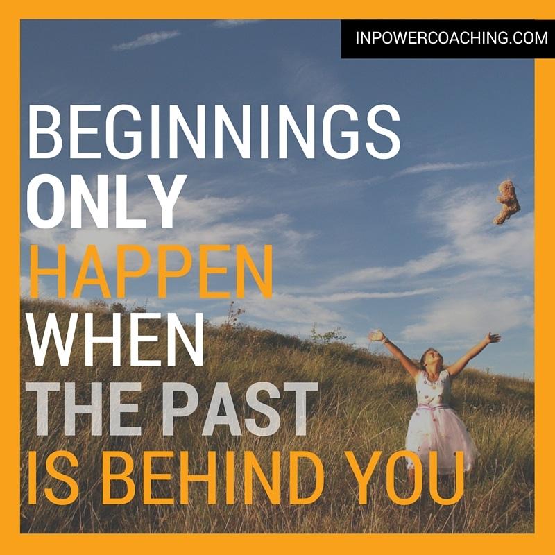 beginnings only happen