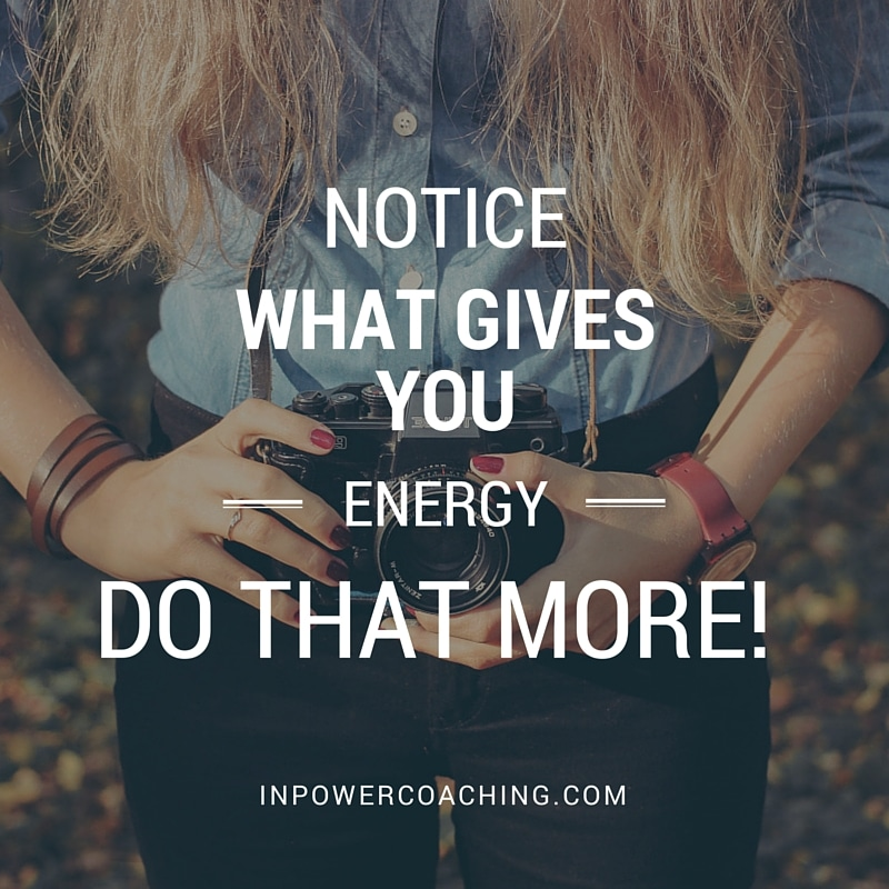 what gives you energy