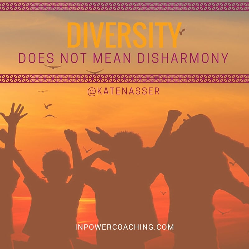 Revelation: Diversity Does Not Mean Disharmony