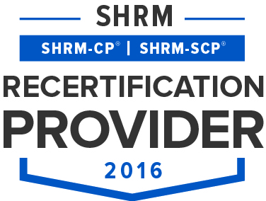 InPower Coaching is recognized by SHRM to offer Professional Development Credits (PDCs) for the SHRM-CPSM or SHRM-SCPSM