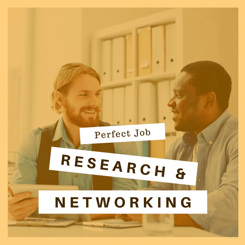 Career Track 3:  <br/>Dream Job Research & Networking Plans