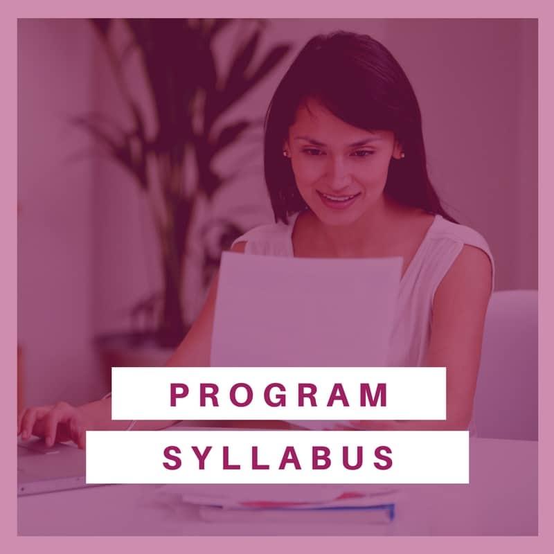 Program Syllabus