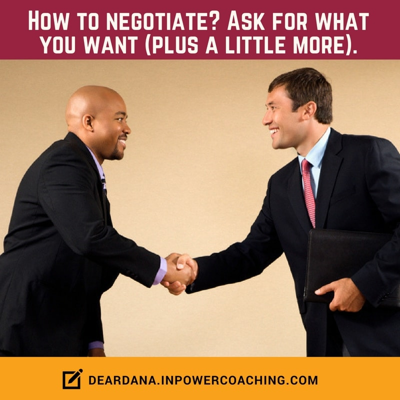 Negotiate a Job