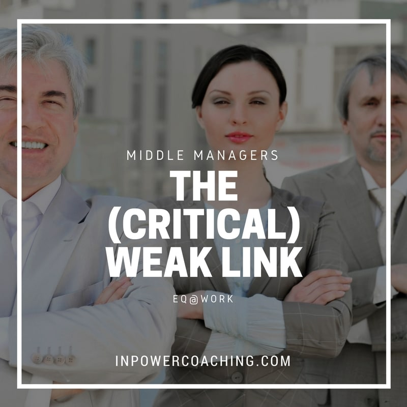 Middle Managers – The Critical (Weak) Link of Change Management