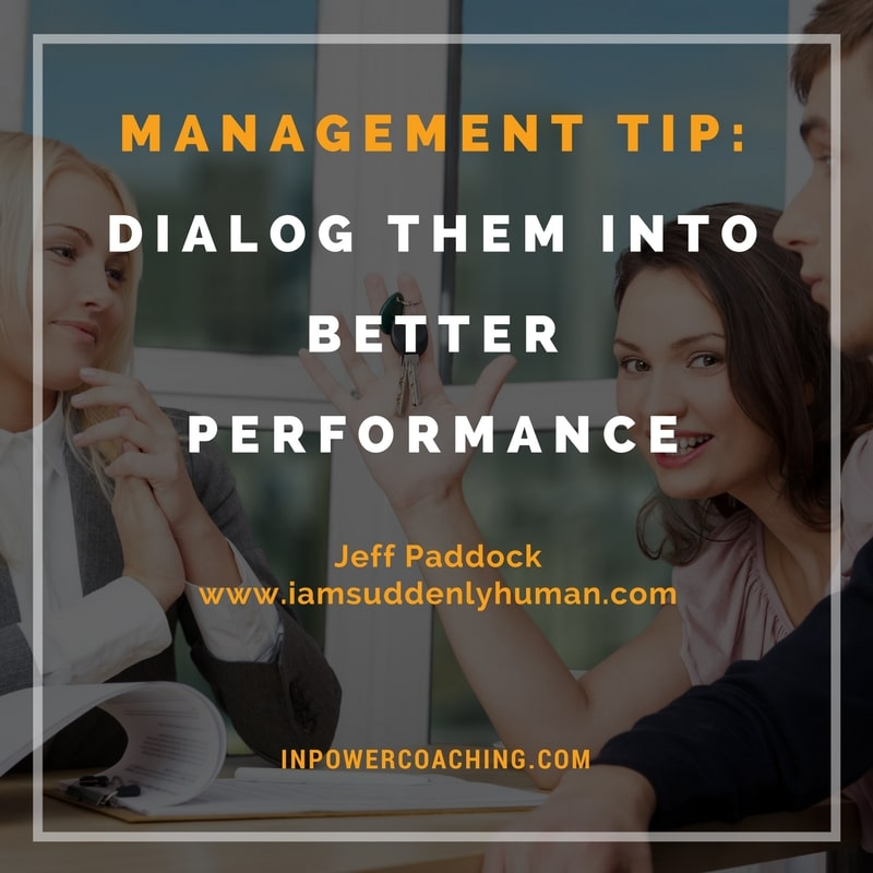 The Role of Dialogue in Performance Reviews