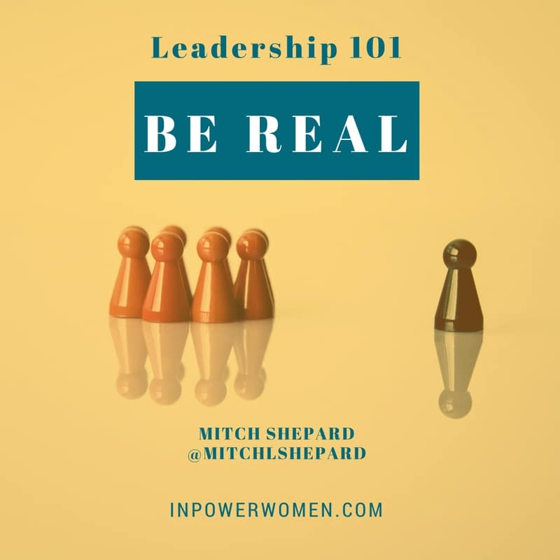 Leadership, the Imposter Syndrome, and Being REAL