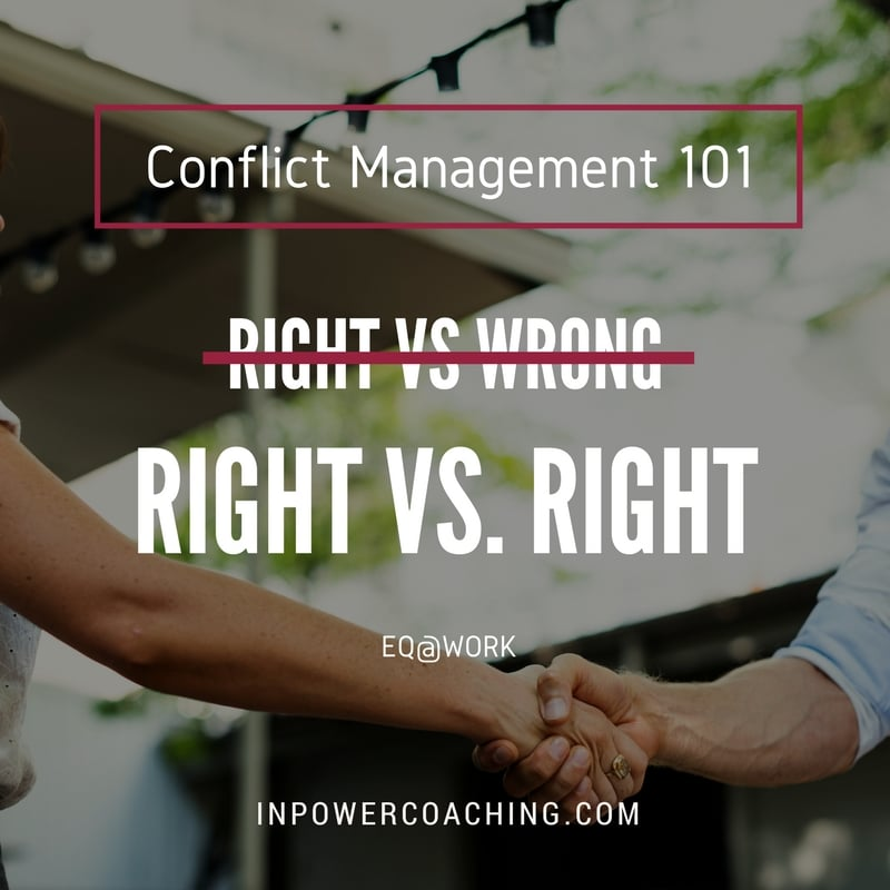 Leadership Communications Trick: RIGHT vs. RIGHT